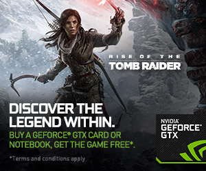 TombRaider Game Bundle with Nvidia