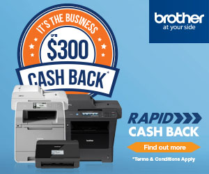 Brother Cash Back up to $300