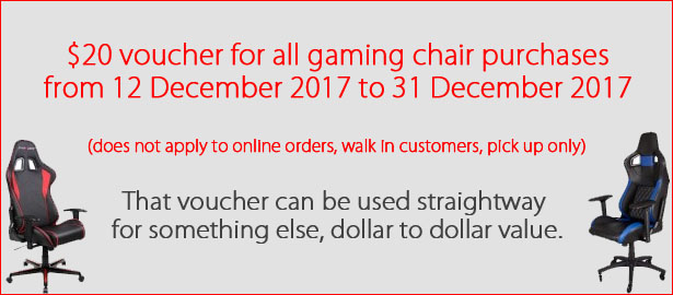 Gaming Chair Vouchers