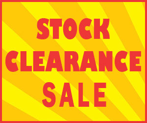 Stock Clearance Banner
