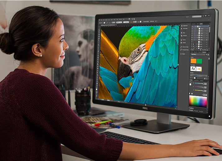 DELL UP3216Q UltraSharp 32Inch Ultra HD 4K Monitor with PremierColor