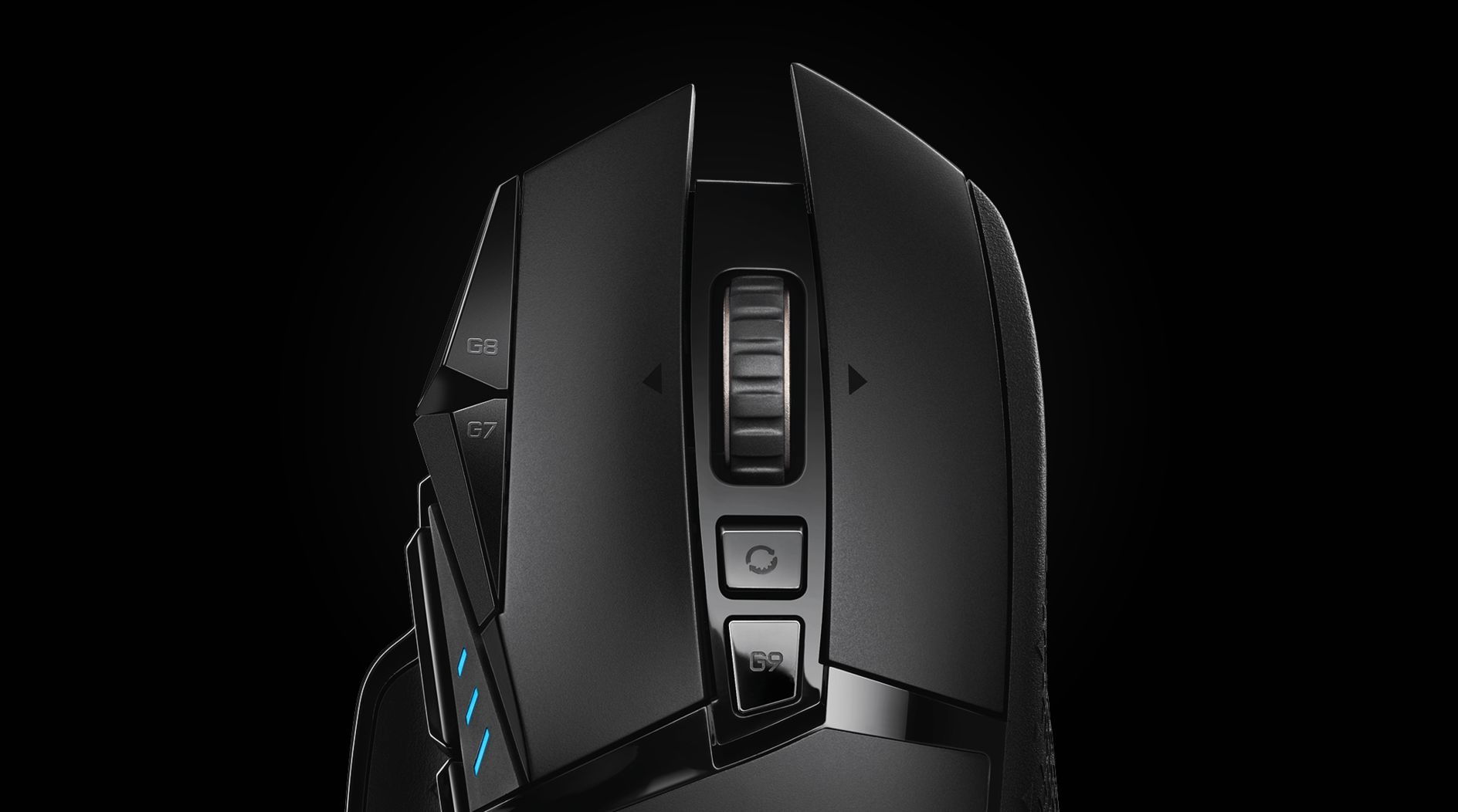 G502 LIGHTSPEED | Top product scroll view